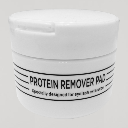 Protein remover pads